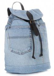 Plecak Jeansowy VITTORIA GOTTI Made in Italy