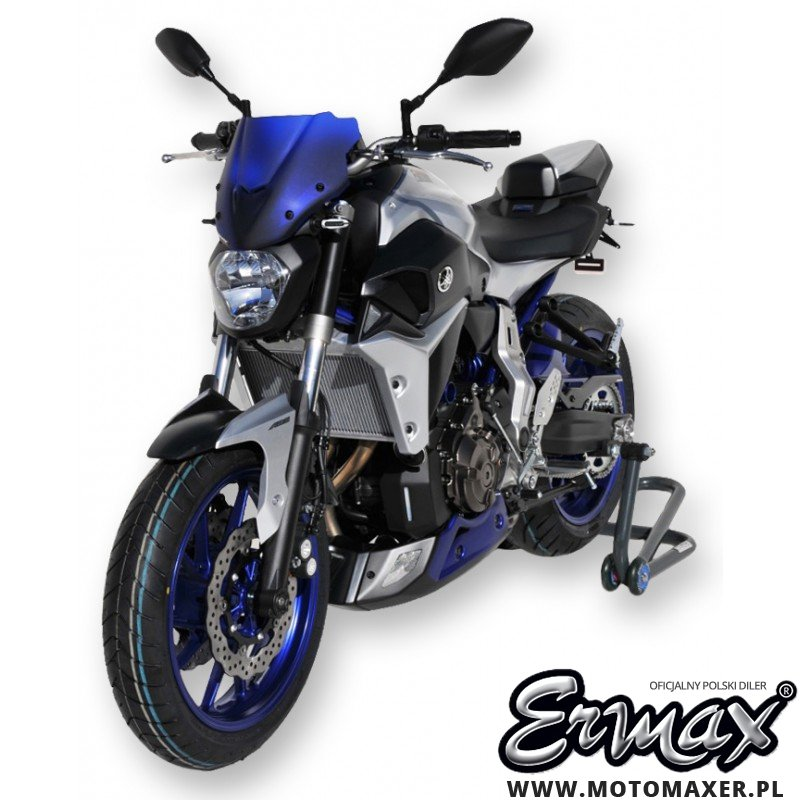 Szyba ERMAX SPORT 27 cm Yamaha MT-07 2014 - 2017