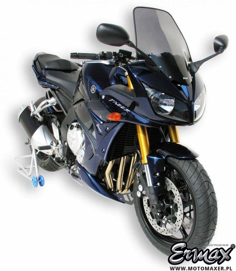Owiewki boczne, plastiki ERMAX LOW FAIRING Yamaha FZ1 FAZER 2006 - 2015