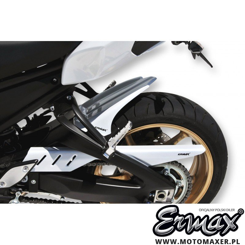 Błotnik tylny i osłona łańcucha ERMAX REAR HUGGER Yamaha FZ8 N NAKED 2010 - 2017