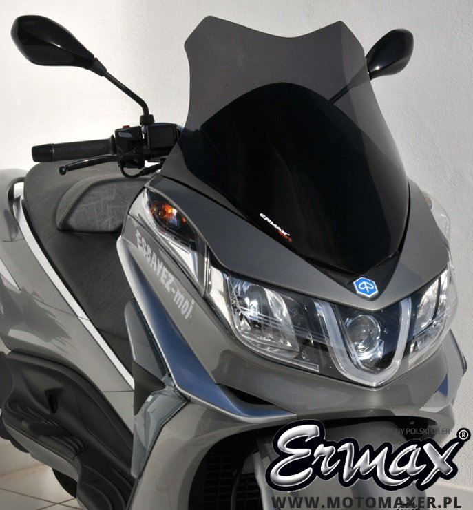 Szyba ERMAX SCOOTER SPORT 54 cm Piaggio X10 2012 - 2017