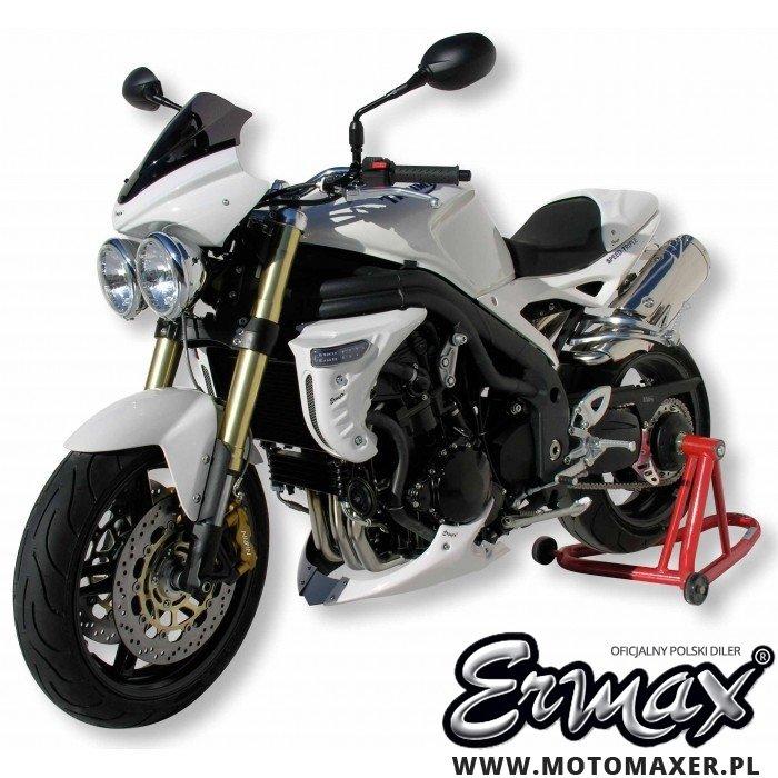 Pług owiewka spoiler silnika ERMAX BELLY PAN Triumph Speed Triple 1050 2005 - 2010