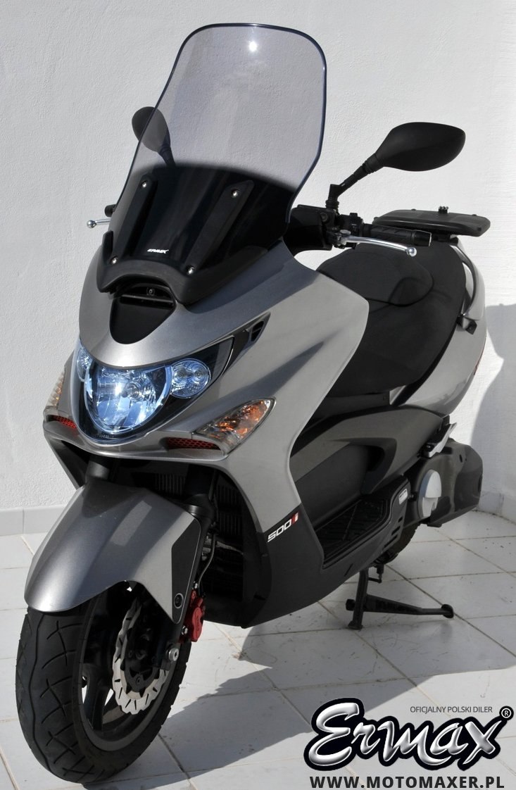 Szyba ERMAX SCOOTER HIGH 60 cm Kymco XCITING 250 / 300 / 500 2005 - 2008