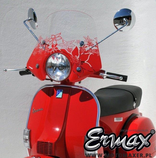 Szyba ERMAX SCOOTER SPORTIVO 45 cm VESPA PX 125 ccm 2011 - 2019