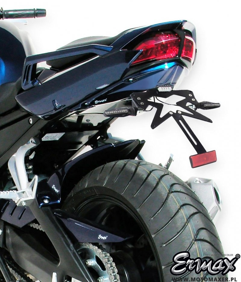 Mocowanie tablicy rejestracyjnej ERMAX UNDERTAIL Yamaha FZ1 FAZER 2006 - 2015