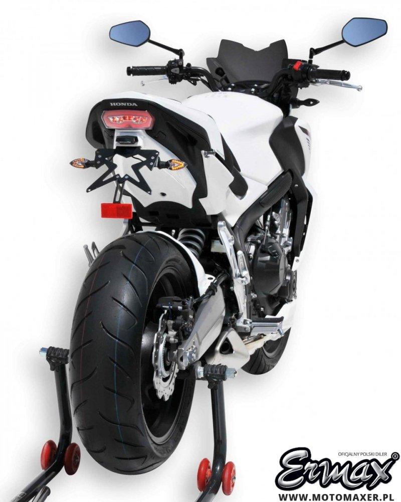 Mocowanie rejestracji + wypełnienie zadupka ERMAX UNDERTAIL Honda CB650F 2014 - 2016