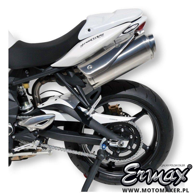 Błotnik tylny i osłona łańcucha ERMAX REAR HUGGER Triumph Street Triple 675 2012