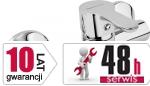 ARMATURA KRAKÓW - bateria natryskowa ścienna GRANAT 5526-010-00