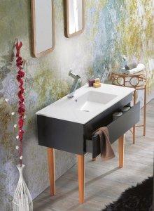 CERASTYLE Umywalka ceramiczna IBIZA 60cm
