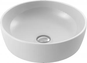 CeraStyle Umywalka ceramiczna okrągła ONE 46cm