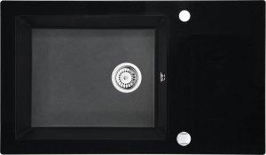 DEANTE Zlewozmywak szklany z grafiką CAPELLA ZSC GX2C