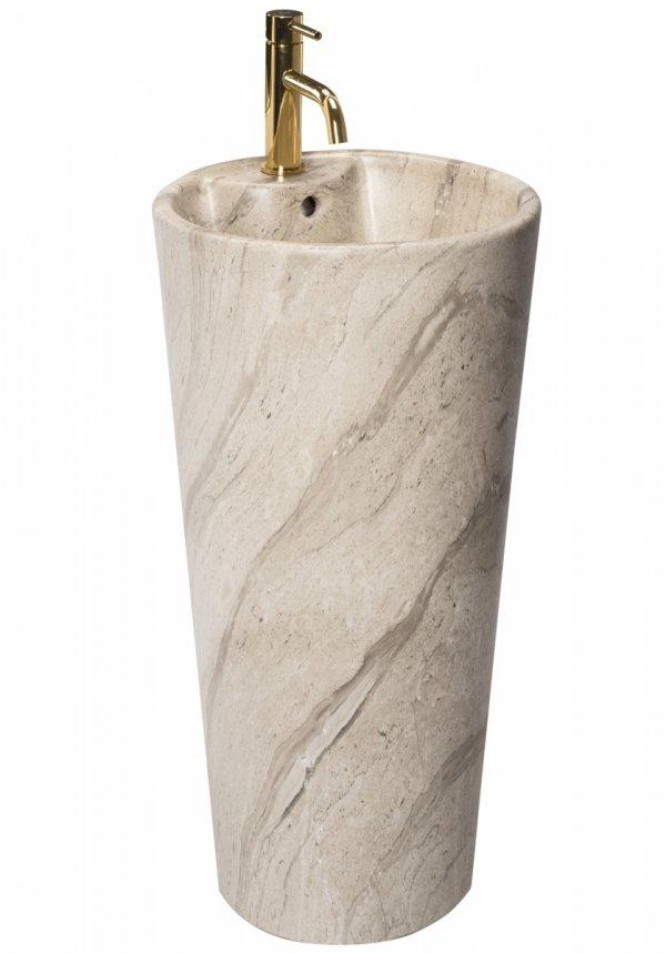 REA Umywalka ceramiczna wolnostojąca BLANKA NATURAL MATT