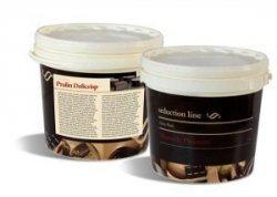 PRALIN DELICRISP LEMON MERINGUE 5 kg - Delikatna pasta z dodatkiem chrupkich, maslanych Delicrisp