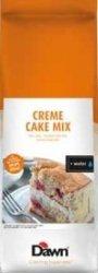 CZEKOLADOWE CIASTO BISZKOPTOWO-TŁUSZCZOWE CREME CAKE MIX 3,5 KG