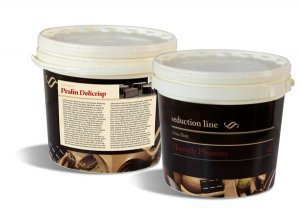 PRALIN DELICRISP CITRON MERINGUE 5 kg - Delikatna pasta z dodatkiem chrupkich, maslanych Delicrisp