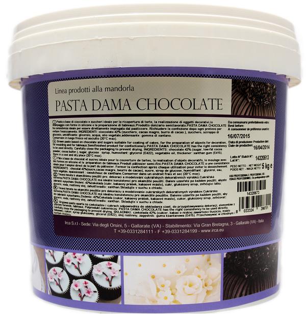 MASA CUKROWA DAMA CHOCOLATE 5kg