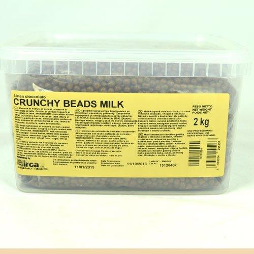 CRUNCHY BEADS MLECZNA CZEKOLADA 2 kg