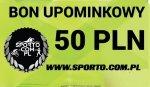 EKSKLUZYWNY BON UPOMINKOWY 50 PLN