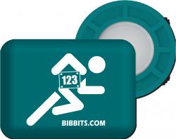 BIBBITS magnesy do mocowania numeru startowego
