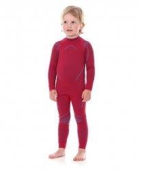 BRUBECK THERMO KIDS Dziewczęce spodnie termoaktywne