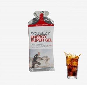 SQUEEZY Żel energetyczny z kofeina cola 33g