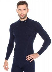 BRUBECK WOOL LS11920 Bluza termoaktywna męska