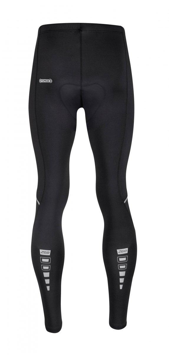 FORCE Z68 spodnie rowerowe z wkładką