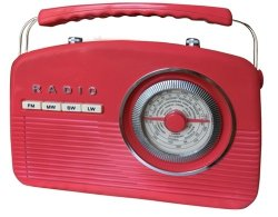 Radio Camry retro CR 1130 red (czerwone)