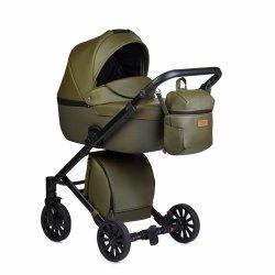 ANEX CROSS Safari | Kombi-Kinderwagen 2 in 1 mit Liegewanne und Sportwagen | oder 3 in 1 mit Autoschale