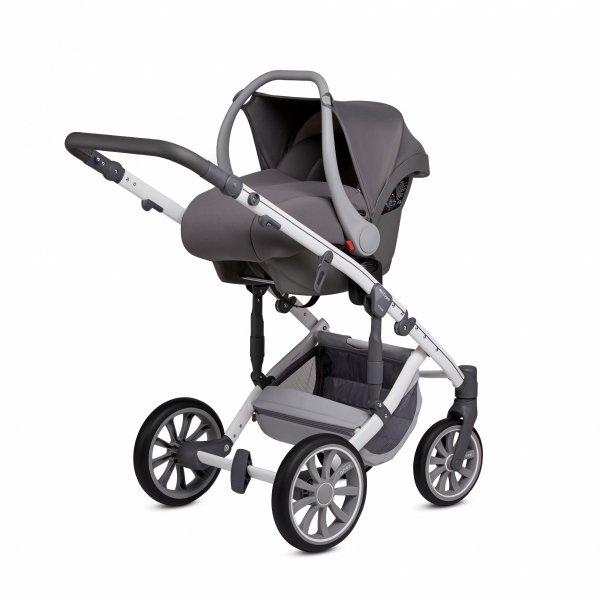 ANEX m-Type NEBULAS BLUE | Kombi-Kinderwagen 2 in 1 mit Babywanne und Sportwagen | oder 3 in 1 mit Autoschale