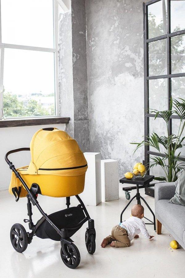 VIVA LIFE TUTIS Grey Stone   Kombi-Kinderwagen 2 in 1 mit Liegewanne und Sportwagen   oder 3 in 1 mit Autoschale    Eco Leder