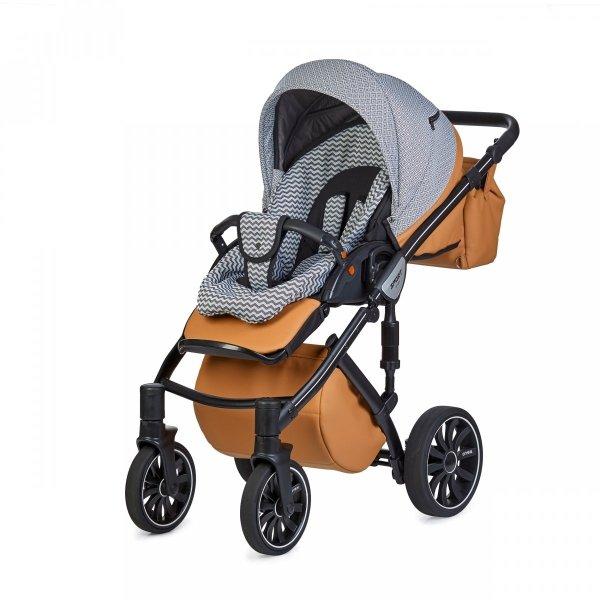 ANEX SPORT Foxy | 2 in 1 mit Liegewanne und Sportwagen | oder 3 in 1 mit Autoschale | Kombi-Kinderwagen