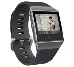 Smartwatch FitBit Ionic - Charcoal Grey