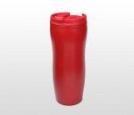 Kubek termiczny BLACKY 400 ml (czerwony)