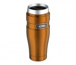 Kubek termiczny Thermos Travel King 470 ml (miedziany)