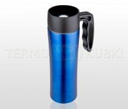 Kubek termiczny z rączką 400 ml CANVELIO (niebieski)