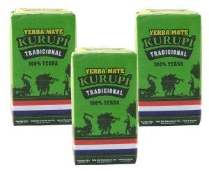 Yerba Mate Kurupi Tradicional 3 x 500 g