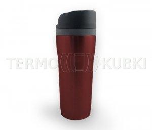 Kubek termiczny SLIM 350 ml (czerwony)