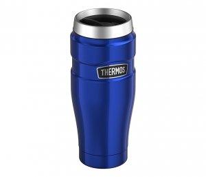 Kubek termiczny Thermos Travel King 470 ml (niebieski)