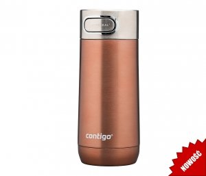Kubek termiczny Contigo Luxe 360 ml (White Zinfandel) miedziany