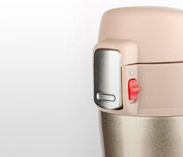 Kubek termiczny OUTER 440 ml K2 (beżowy metalic)