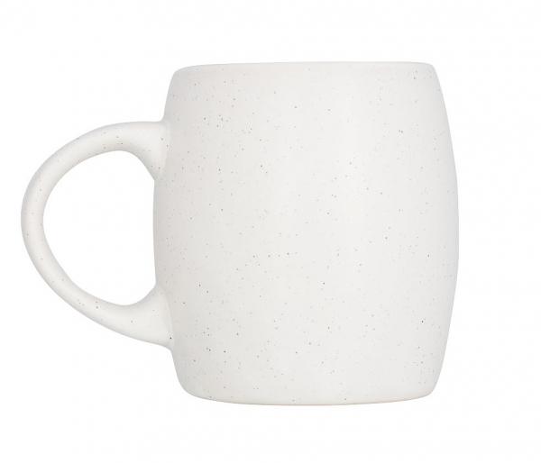 Kubek z kamienia i ceramiki 550 ml CERISTONE biały