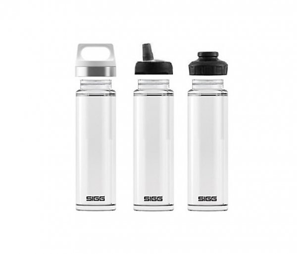 Termos szklany SIGG WMB z zaparzaczem HOT & COLD Glass 400 ml Midnight