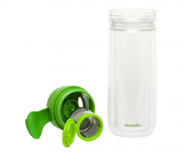Kubek termiczny z zaparzaczem 350 ml ALADDIN Custom Tea Infuser zielony