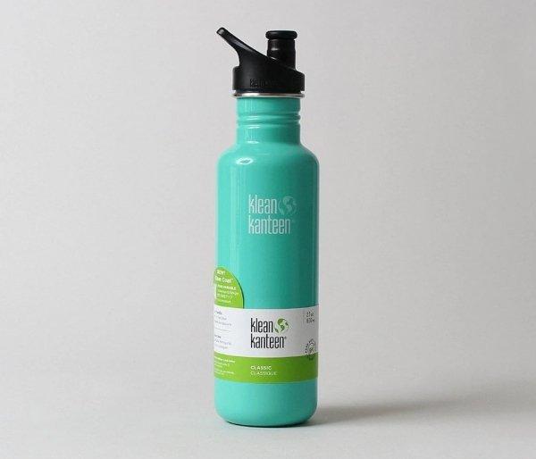 Butelka Klean Kanteen Classic z nakrętką Sport Cap 800 ml (sea crest) morski
