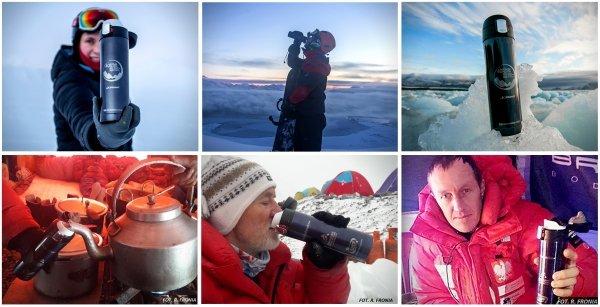 Kubek termiczny OUTER Polska wyprawa na K2, Polska wyprawa Polarna Hornsund