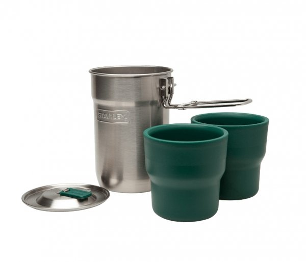 Menażka Stanley Adventure The Nesting Two Cup Camp Cook Set 710 ml stalowy