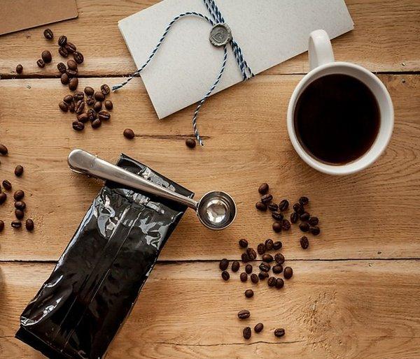 Stalowa miarka do kawy 8 ml ALIGATOR stalowy