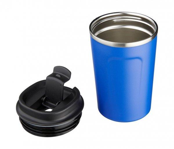 Kubek termiczny COPPER MINI 380 ml z miedzianą izolacją niebieski