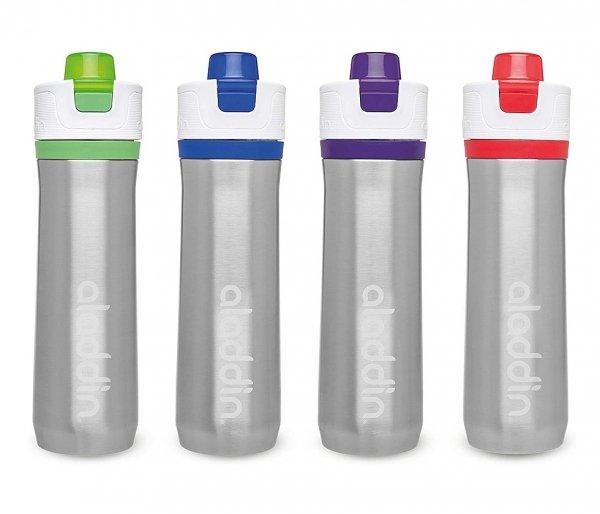 Bidon termiczny 600 ml Aladdin Active Hydration stalowy-zielony